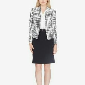 Tamari ASL Printed Jacket Pencil Skirt Suit